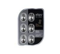 Витамины для темных волос Ellips PRO-KERATIN Silky Black - блистер, 6 капсул