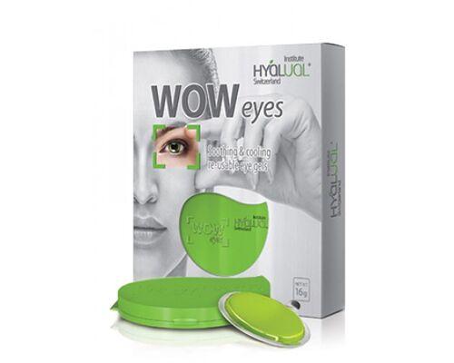 Гидрогелевые пептидные патчи для глаз WOW Eyes HYALUAL