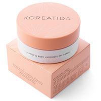 Koreatida peptide and ruby hydrogel eye patch