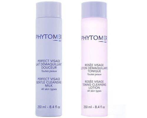 Набор очищающий /Лосьон розовая вода + Молочко для снятия макияжа/ (арт. SVV491)